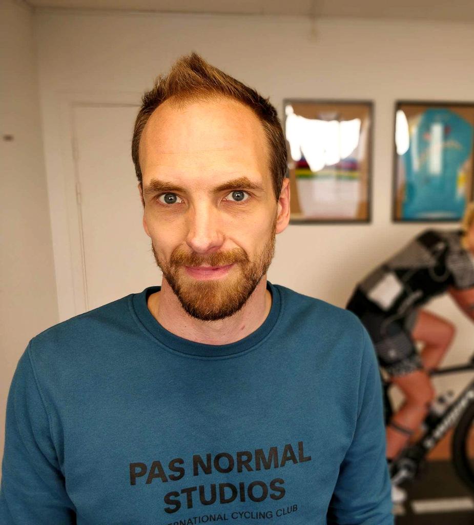 Mads Dellgren er bikefitter