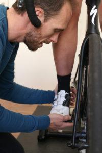 Ved et bikefit bliver såler og klamper også indstillet